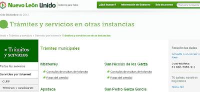 Multas en linea de automovil en Monterrey consulta gratis el adeudo  2019 2020 2021 2222