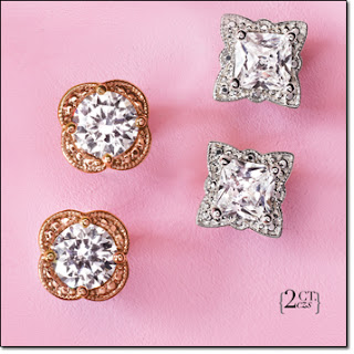 Picture Perfect CZ Studs