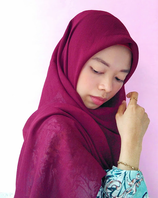 tutorial hijab square syar'i
