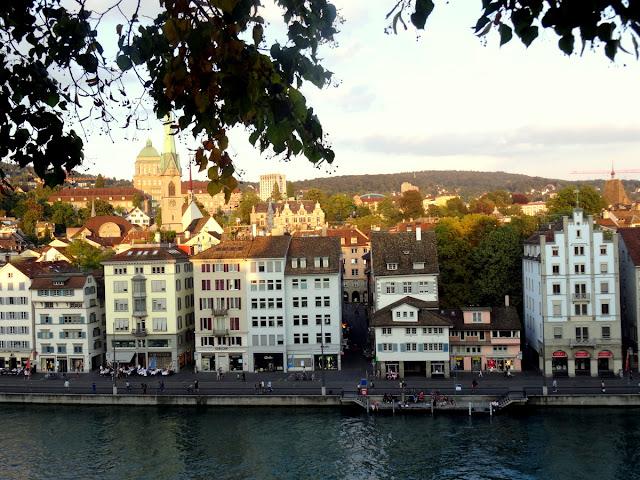 View Niederdorf Lindenhof Hill Zurich