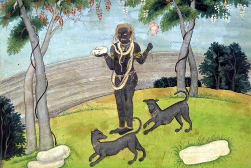 Shani Dev and Black dogs