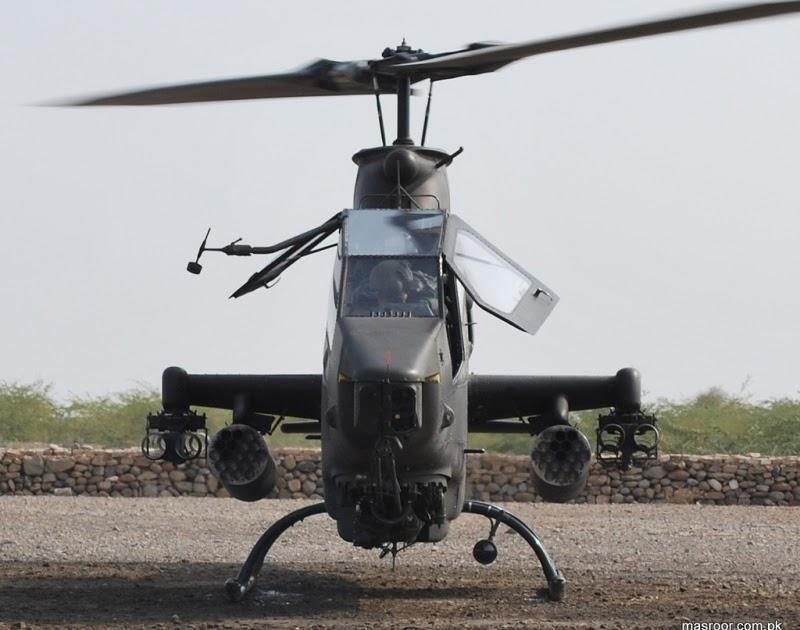 Pakistani AH1F Cobra Gunship HelicopterII  Pakistan Military Review