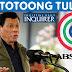 """WATCH: President Duterte Tinawag ng """"TULISAN"""" ang ABS-CBN at Inquirer"""