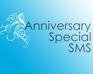 anniversary sms  2018