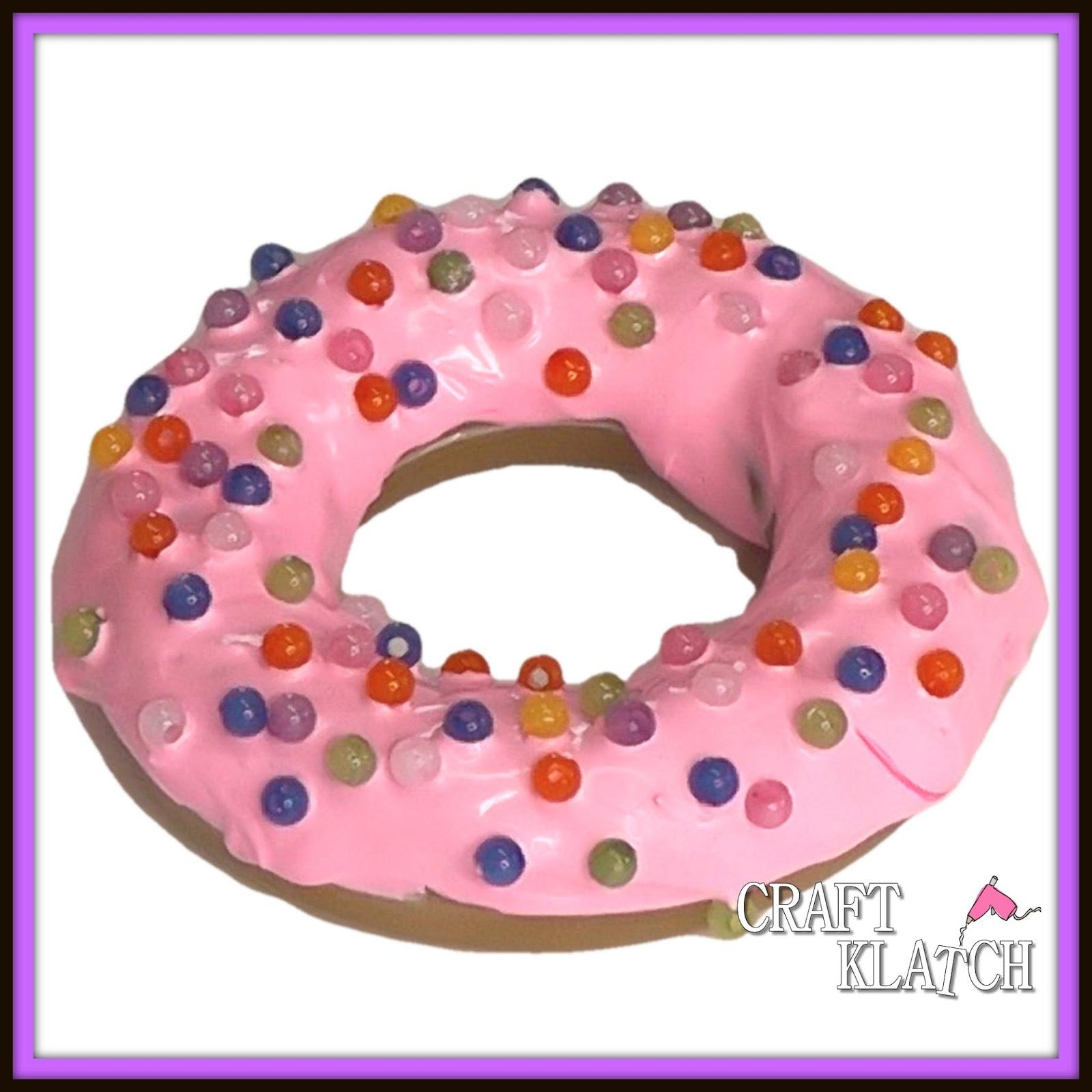 Craft Klatch Diy Resin Donut Paperweight Craft Klatch How To