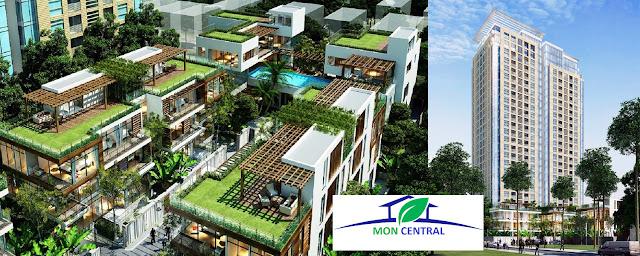 Toàn cảnh dự án Mon Central