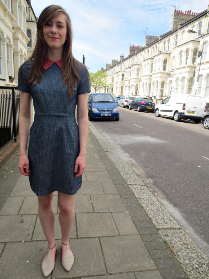 Yumi Lilah Parsons denim dress