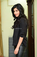 Shruti Haasan Looks Stunning trendy cool in Black relaxed Shirt and Tight Leather Pants ~ .com Exclusive Pics 067.jpg