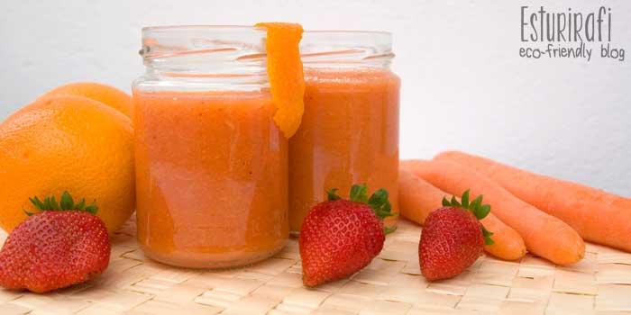 Prepara la piel para este verano con un batido naranja, cargado vitaminas