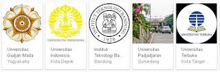 daftar perguruan tinggi negeri di indonesia