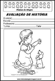 Capa para avaliação de história