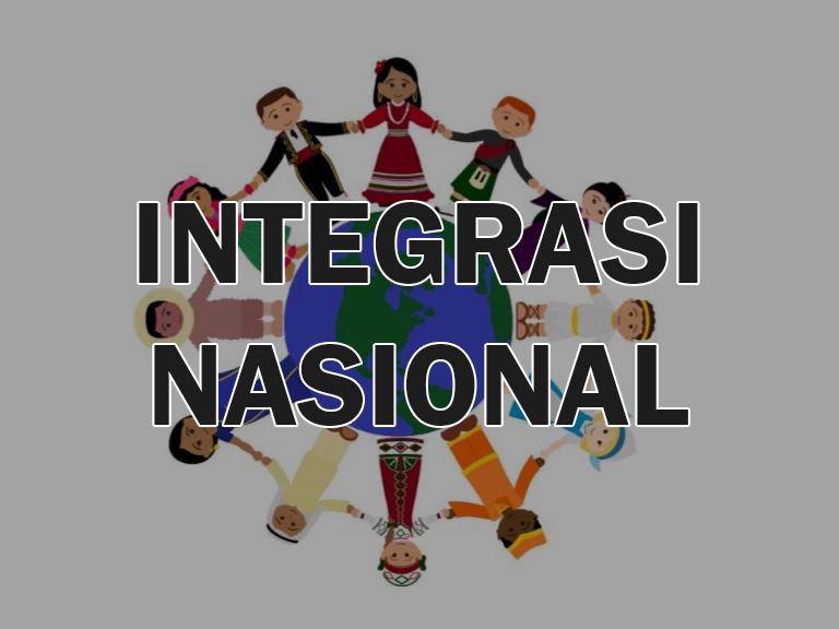 Integrasi Nasional Sosiologi Dan Antropologi