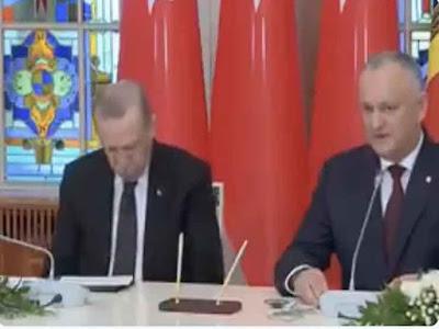 أردوغان, يغلبه النوم, مؤتمر رئاسي,