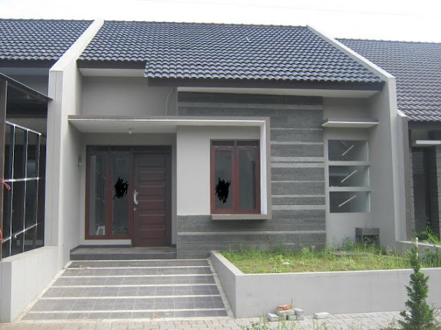 Contoh desain rumah minimalis type 21