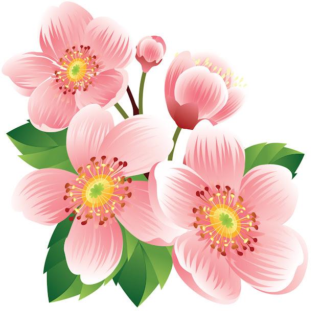 çiçekli dekupaj resmi