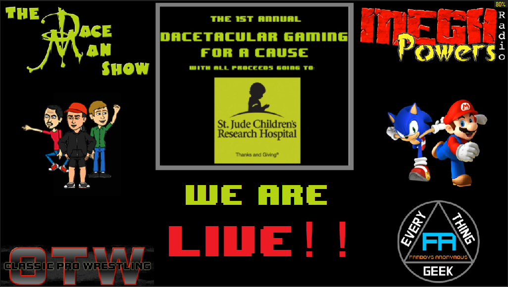 St. Jude Childrens Research Hospital charity gaming marathon Fanboys Anonymous