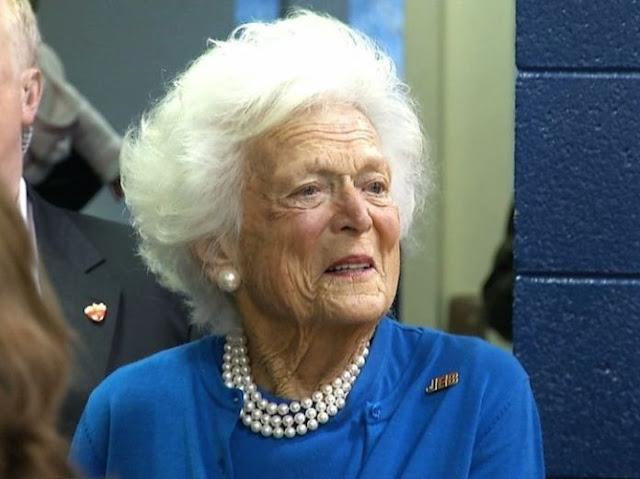 Fallece ex primera dama de EEUU Barbara Bush