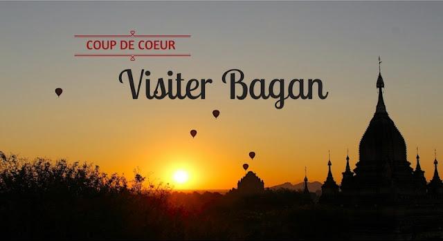 Lever de soleil et montgolfières sur la plaine de Bagan en Birmanie