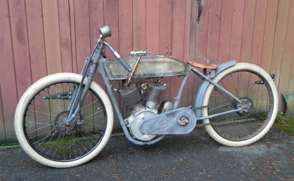 Harley Davidson: Belinfante-Indian-motorcycles: 1913 Harley Davidson Twin