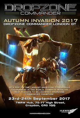 Autumn Invasion 2017 Ticket from Hawk Wargames