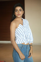 Avantika Mishra in One Shoulder Crop Top and Denim Jeggings ~  Exclusive 031.JPG