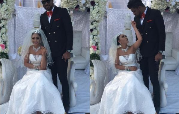 BBNaija's Thin Tall Tony 'Marries' Tonto Dikeh's Alleged Nightmare, Rosaline