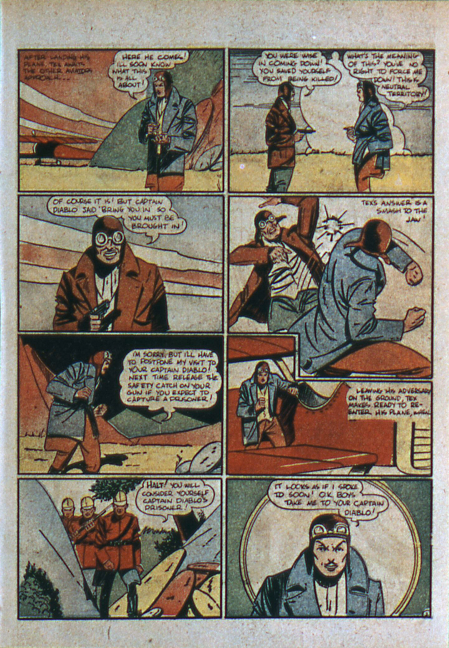 Read online Action Comics (1938) comic -  Issue #6 - 37