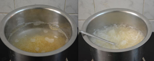 cooking vermicelli