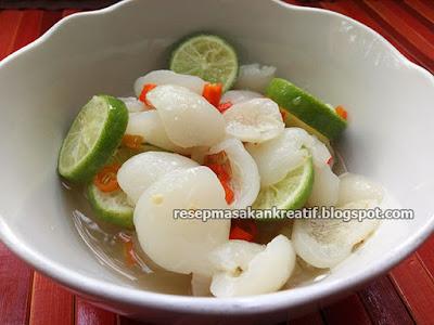 Resep Rujak Rambutan