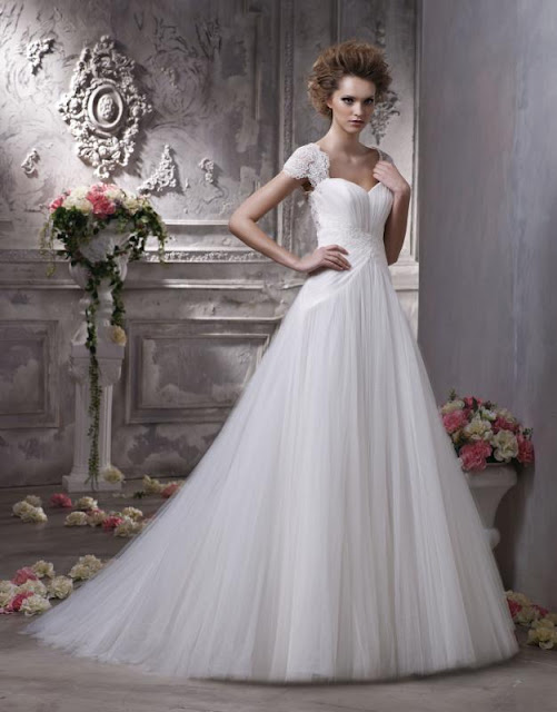 Choose Your Fashion Style: 10 more Wedding Dresses with Sleeves