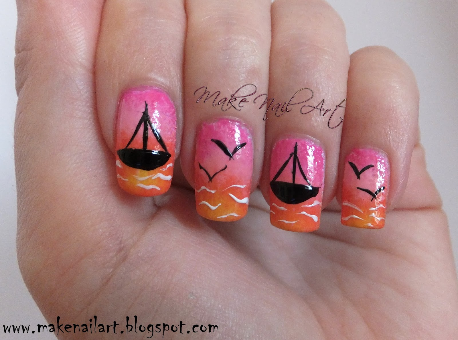 Make Nail Art: July 2015
