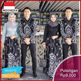 NAG010 Batik Couple Fitria Manuk Kembar Murah Bmgshop