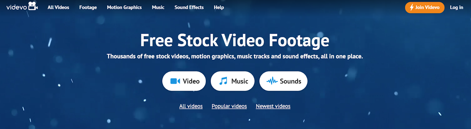 videvo is for best for stock footage