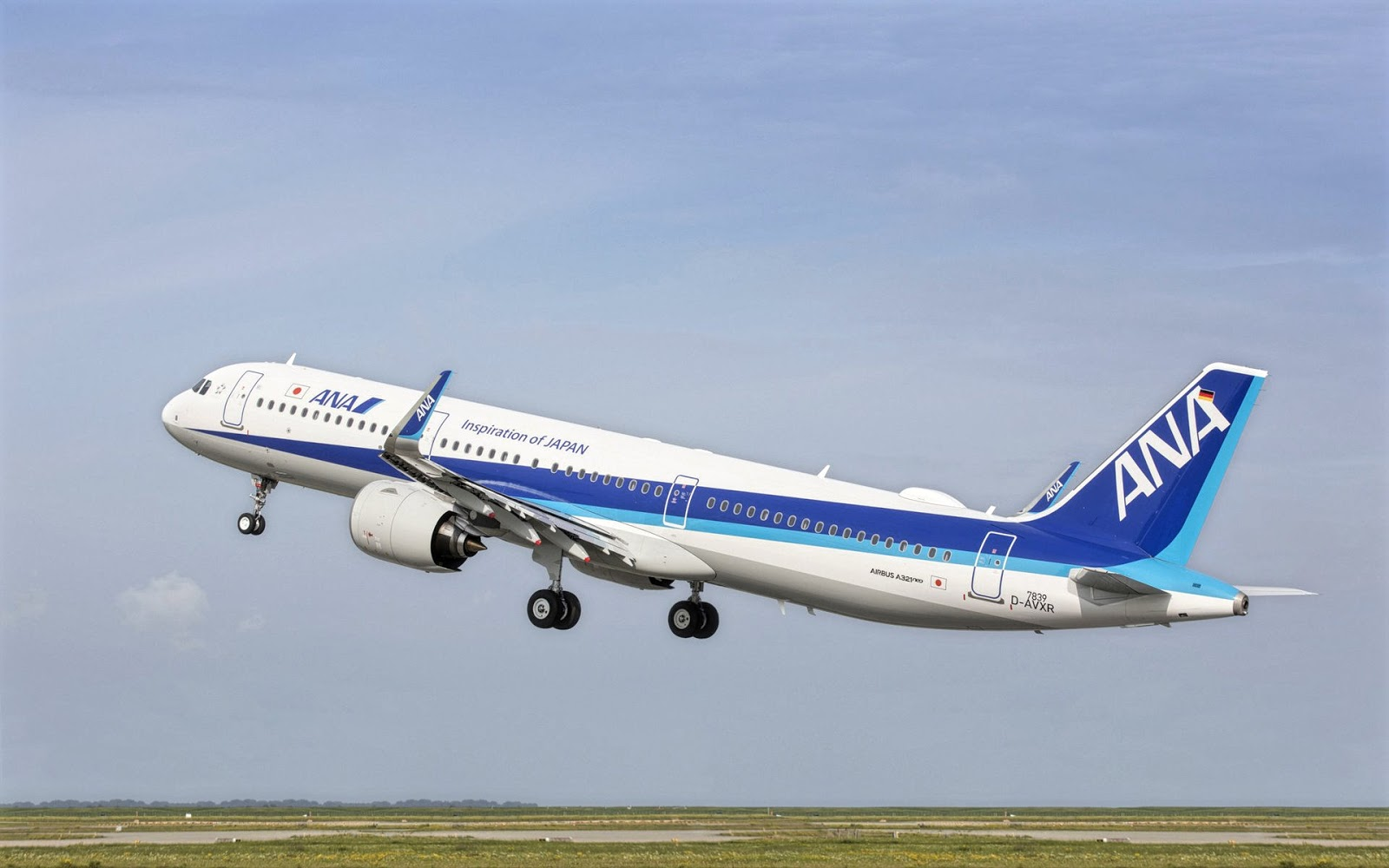 Airbus A321neo of All Nippon Airways December 2018 Delivery