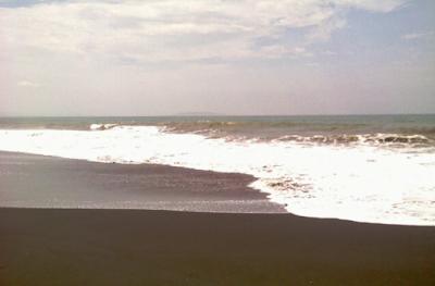 Pantai Bojong Salawe Pangandaran
