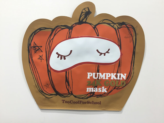 Pumpking Mask Too Cool For School