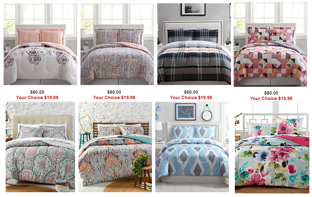 Inspirational  Piece Comforter Sets Full Queen or King Piece Bennet Full Queen Comforter Set Free store pickup at Macy us or shipping or free