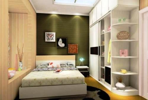 Tips Menata Kamar Tidur Memanjang  Rancangan Desain Rumah