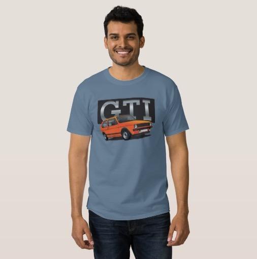 Volkswagen Golf GTI MK1 t-shirt