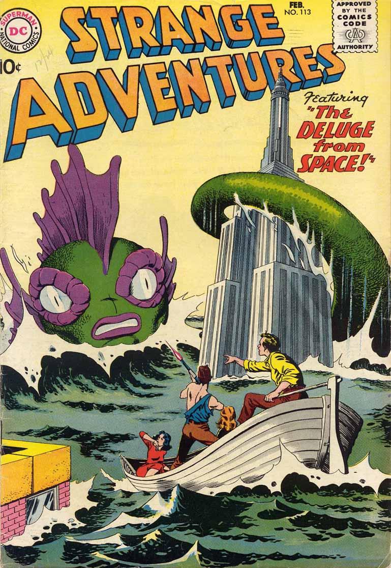Strange Adventures (1950) 113 Page 1
