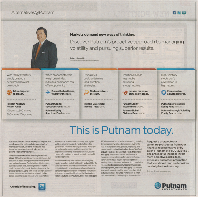 Alternative Mutual Fund by Putnam Funds