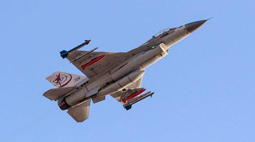Ισραηλινό μαχητικό F-16 καταρρίφθηκε στη Συρία