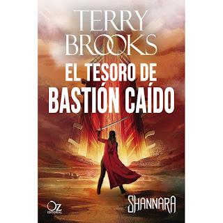 El tesoro del bastión caído de Terry Brooks