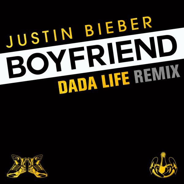 Justin Bieber - Boyfriend (Dada Life Remix) - Single Cover