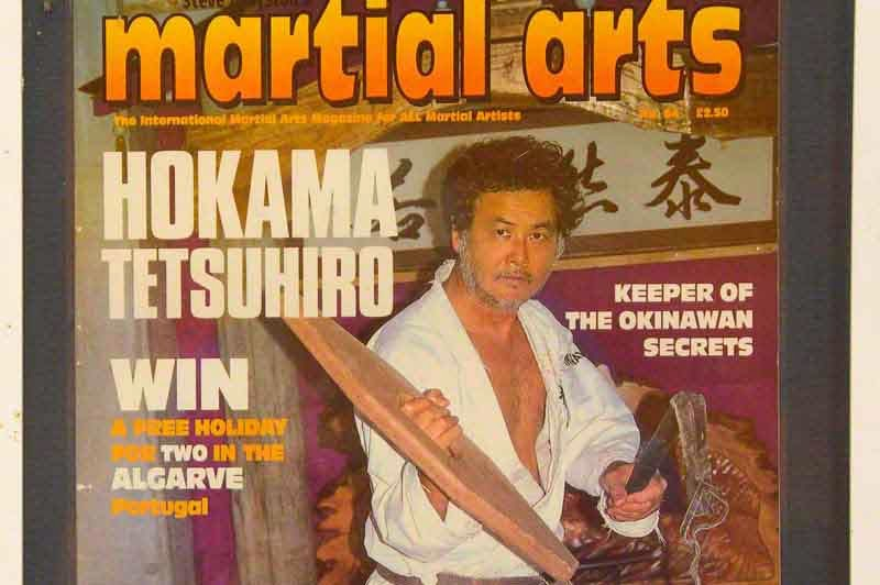 Karate Magazine,display