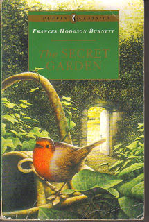 The Secret Garden - the robin is on the cover because he started it all