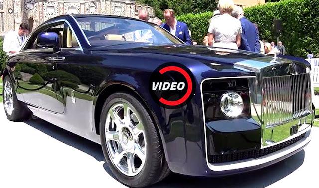 [WOW] Rolls-Royce Sweptail, Merek Mobil Baru Termahal Didunia