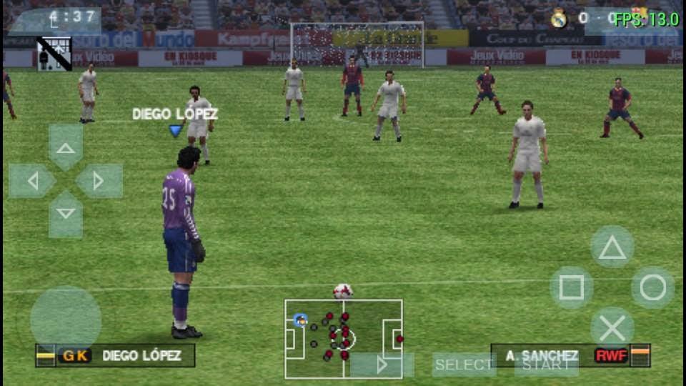 Get2Mobile: Pro Evolution Soccer 2014 OFFICIAL (EUR-PSP-ISO)