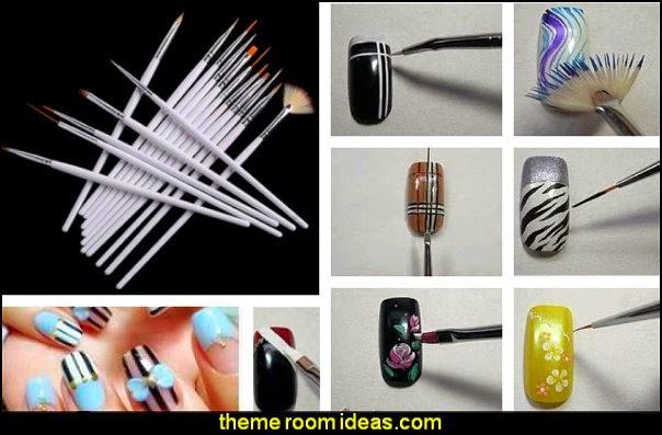 nail art brushes  nail art - nail art stickers - nail decals - nail decorations - nail water decals - nail art stencils -  nail polish - decorative nail studs