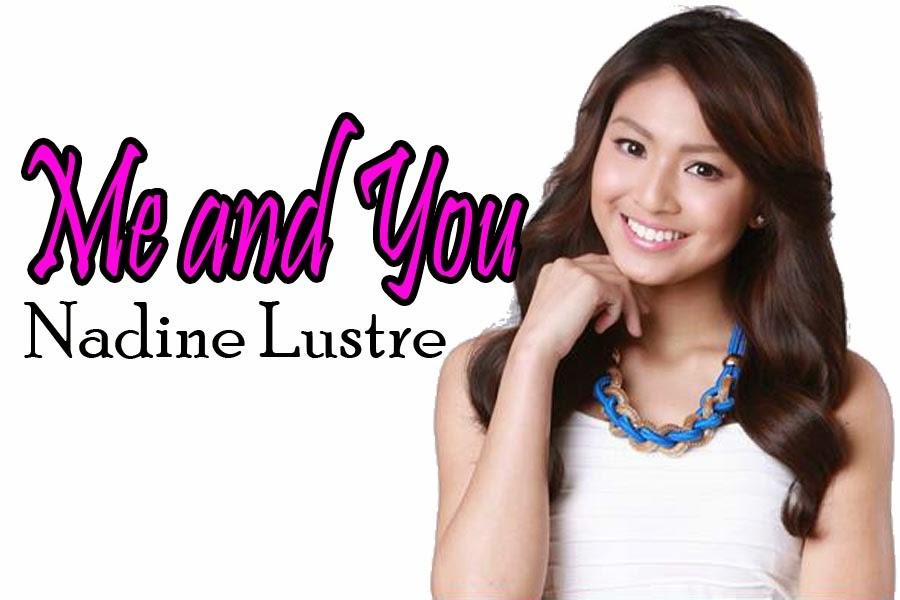 Lyric me & u lyrics : Nadine Lustre -